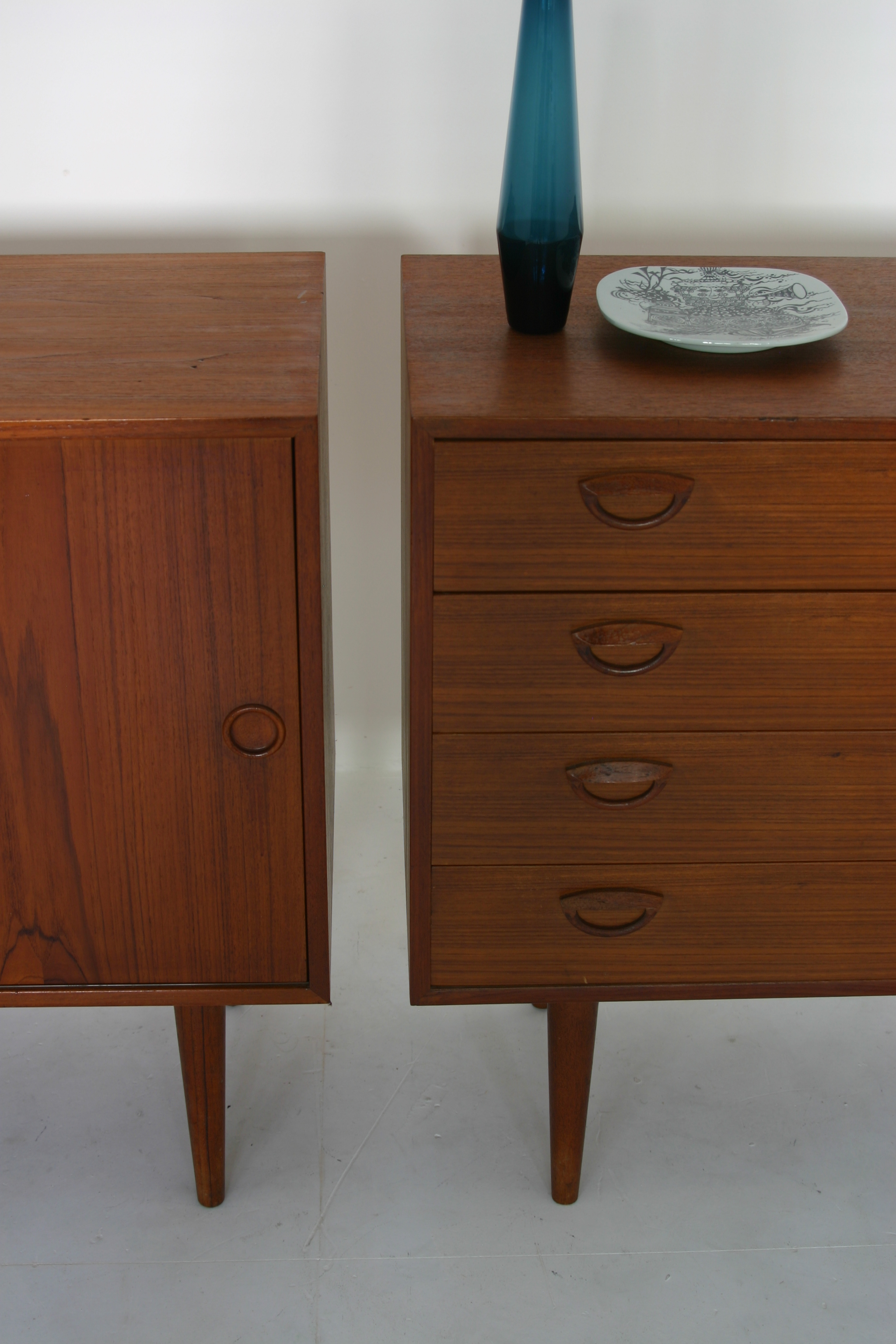 Danish teak sideboards