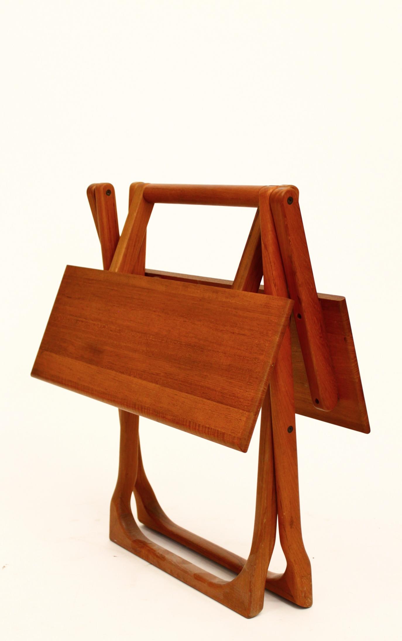 Danish Teak Folding Table