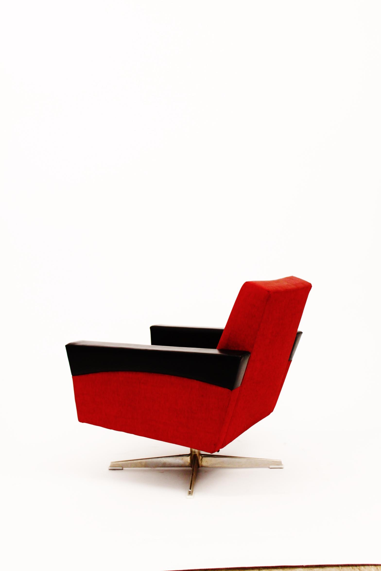 Sixties Lounge Swivel Chairs