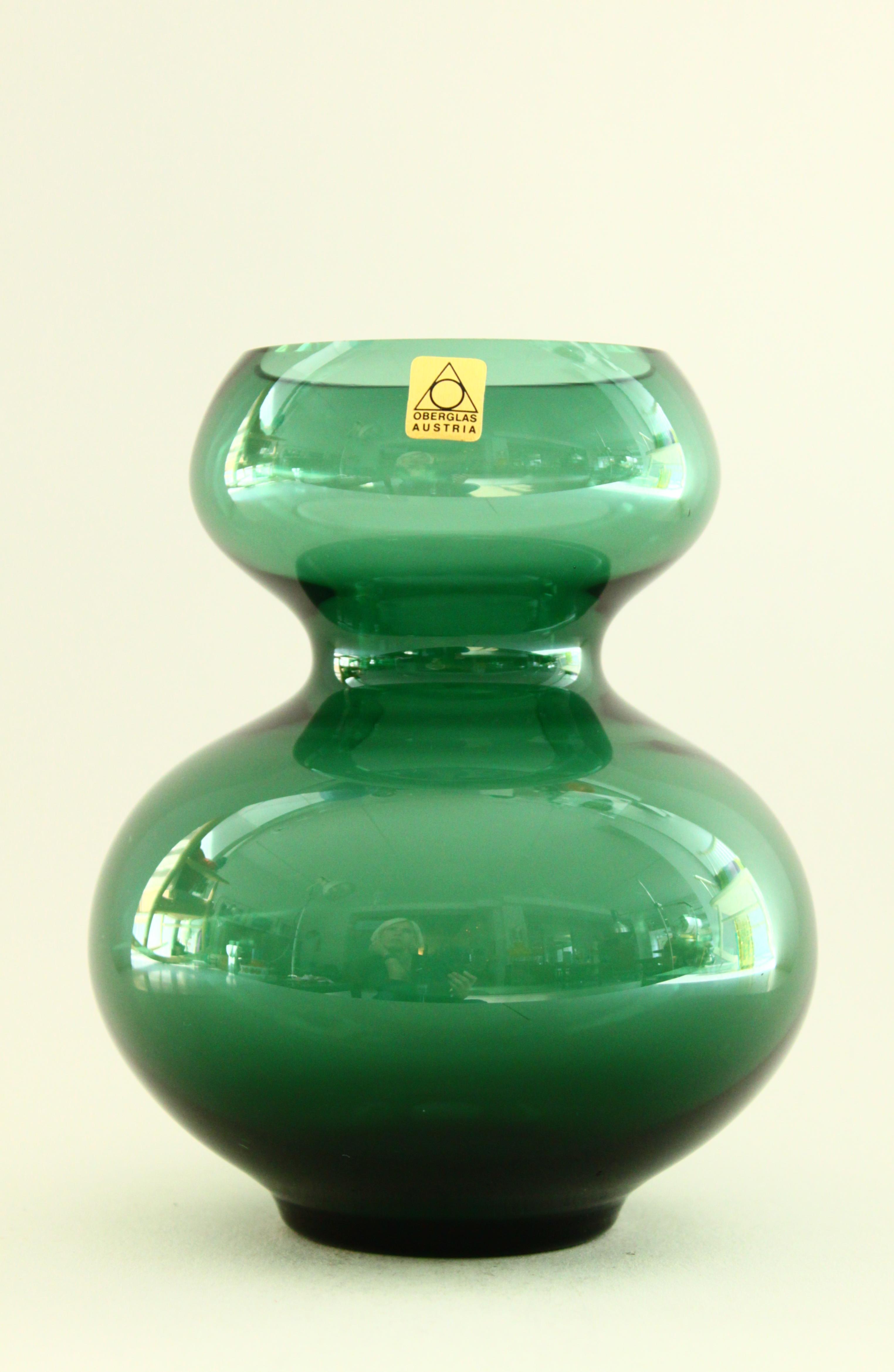 Oberglass Vase