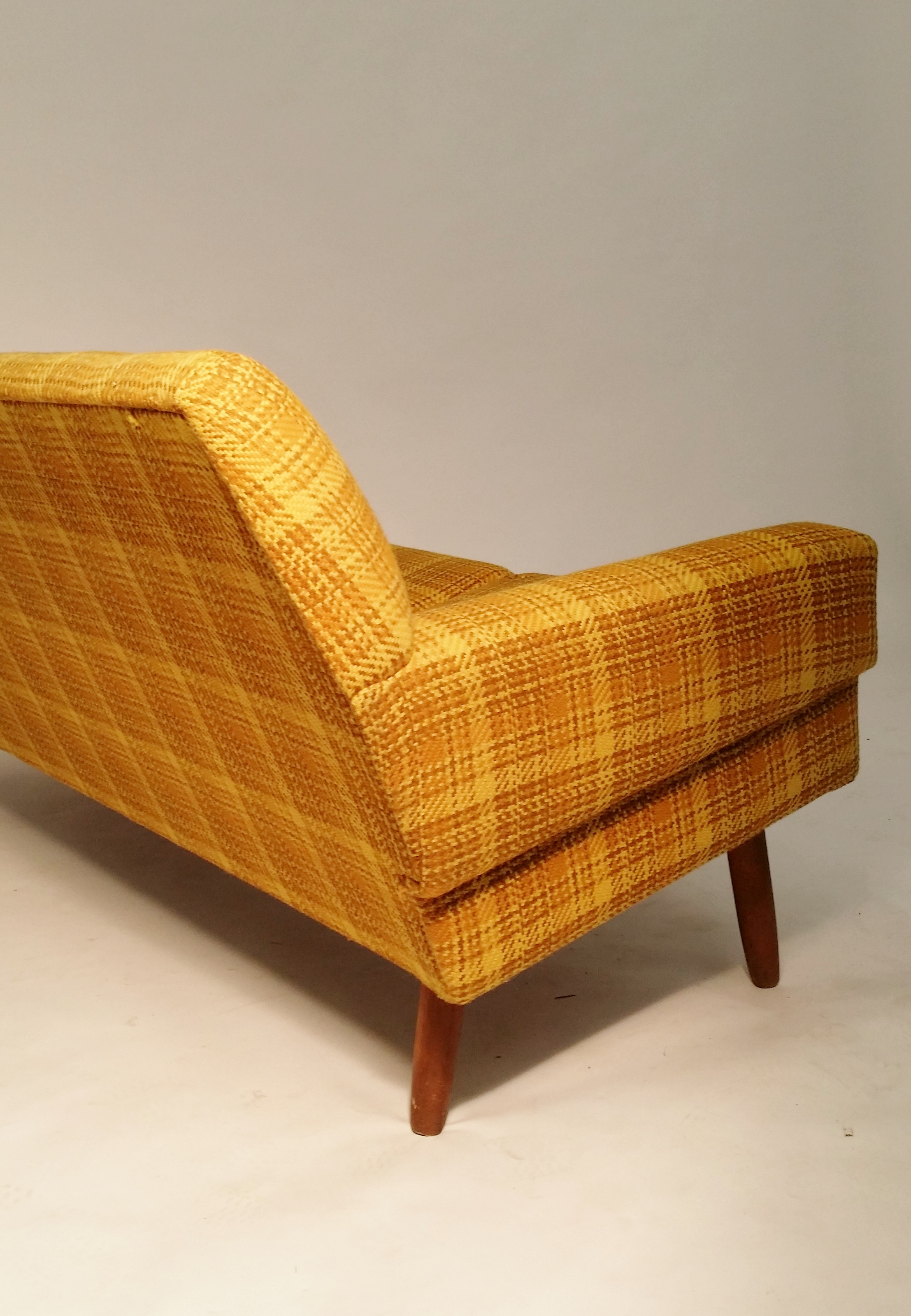 Danish wooven tweed sofa 1960