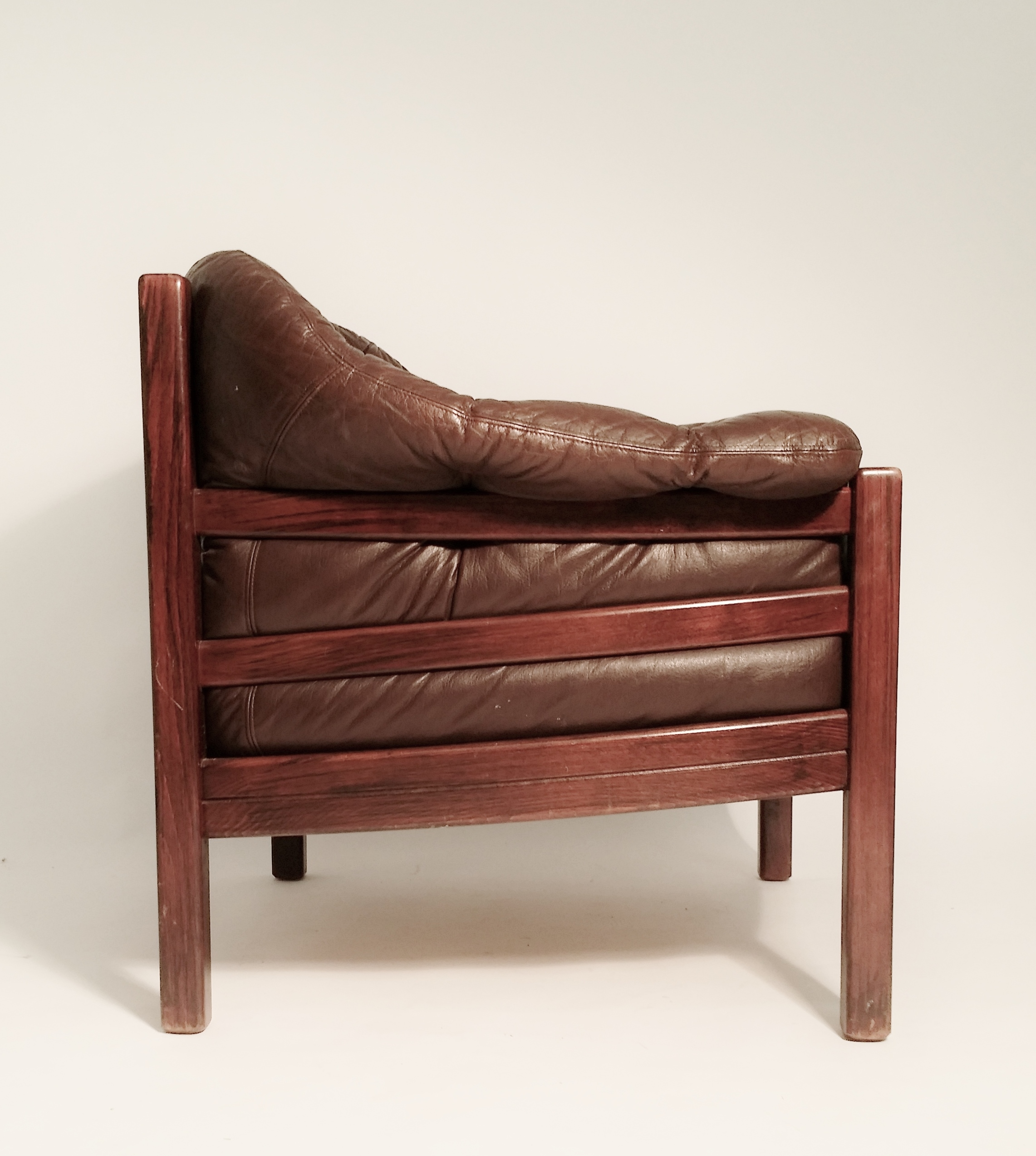 Arne Norell Leather sofa