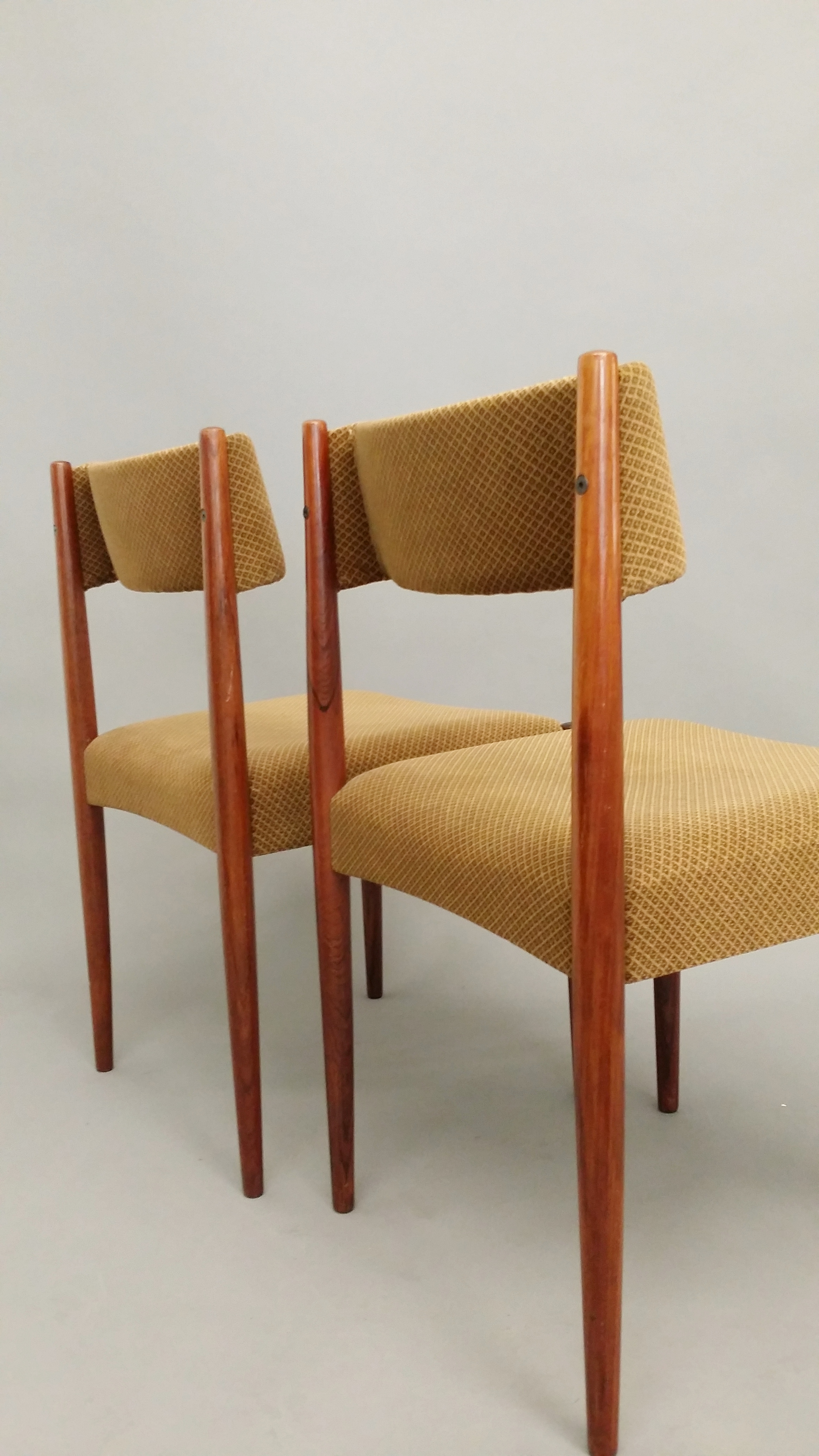 Rose wood dining chairs