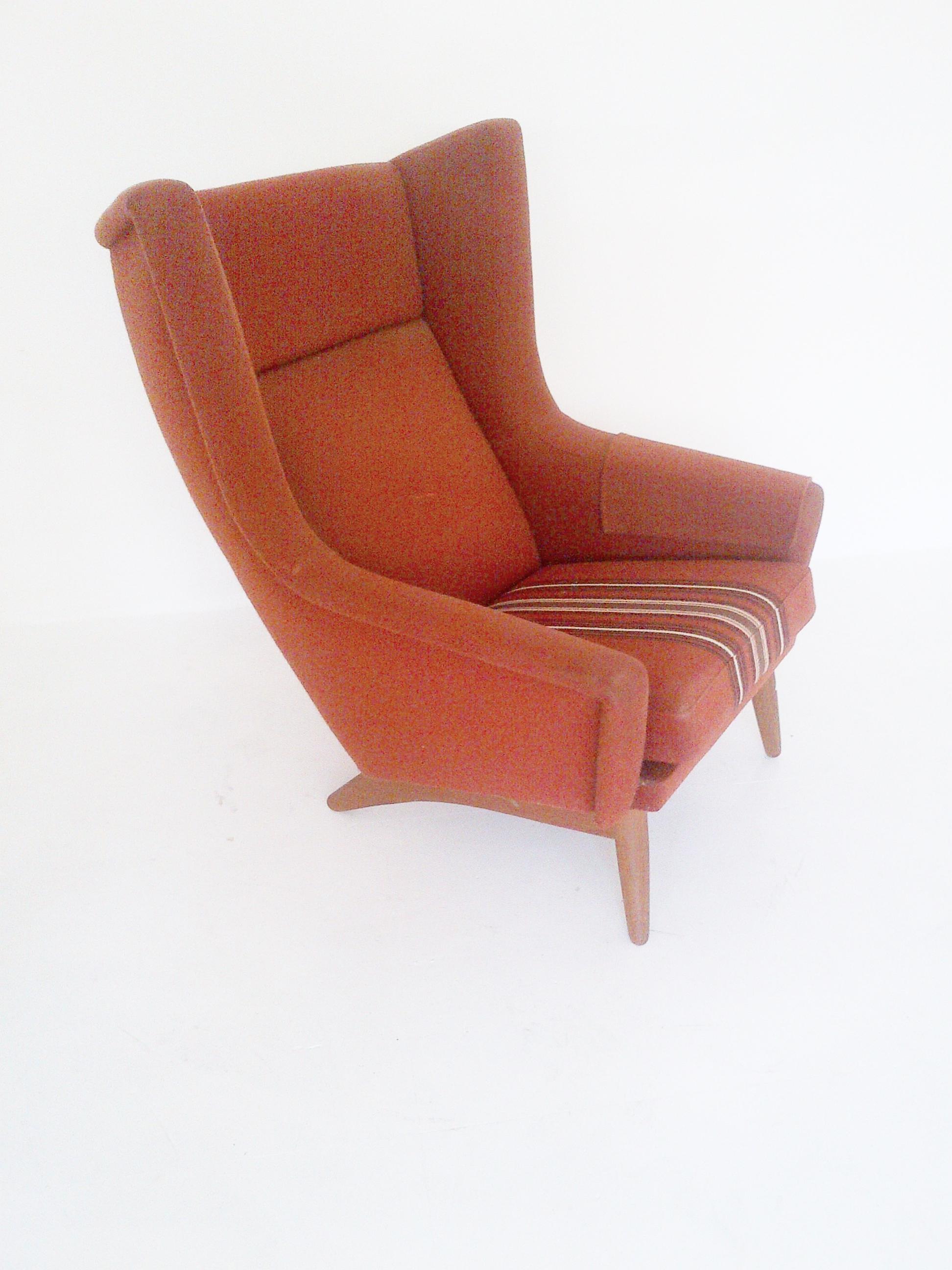 Danish Wingback Chair 1950