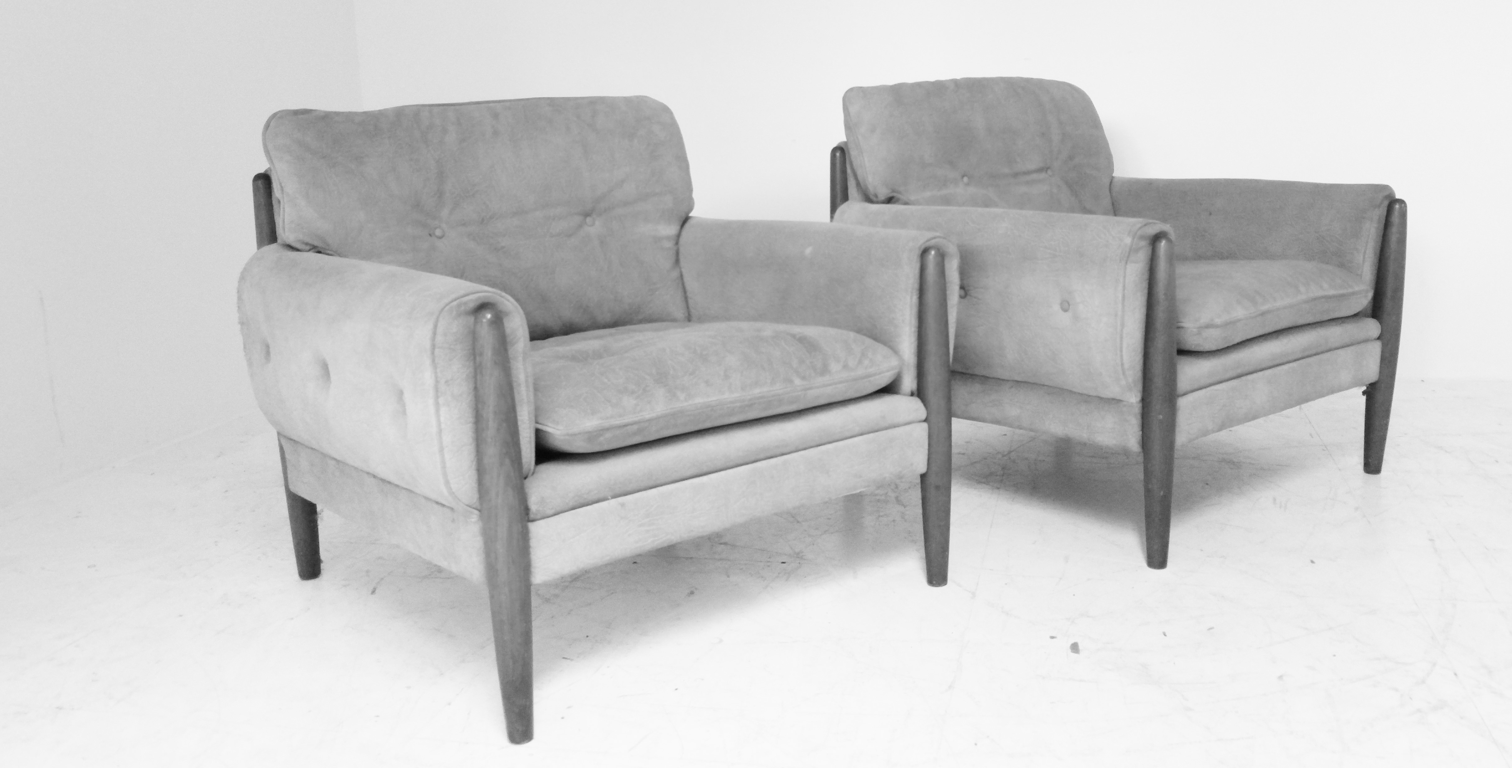 Arne Norell style armchairs
