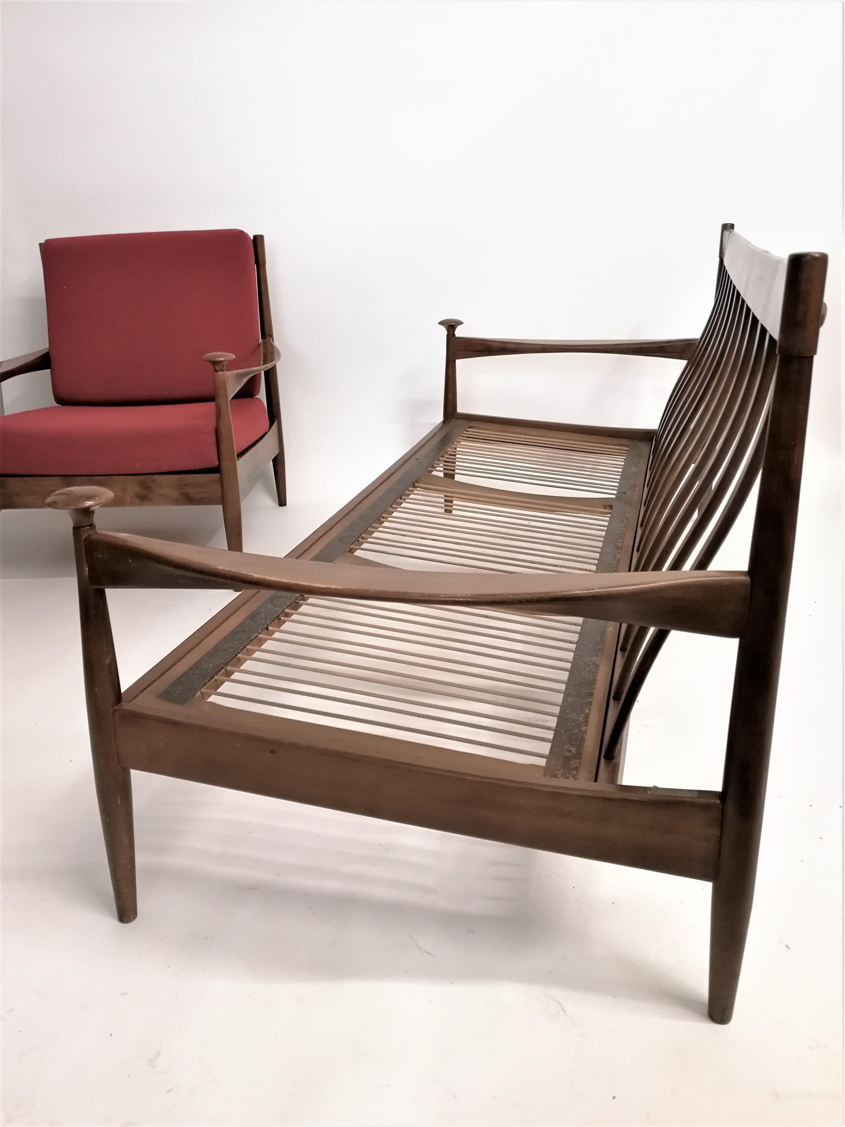 Wilhelm Knoll 3 seater sofa 1950/60