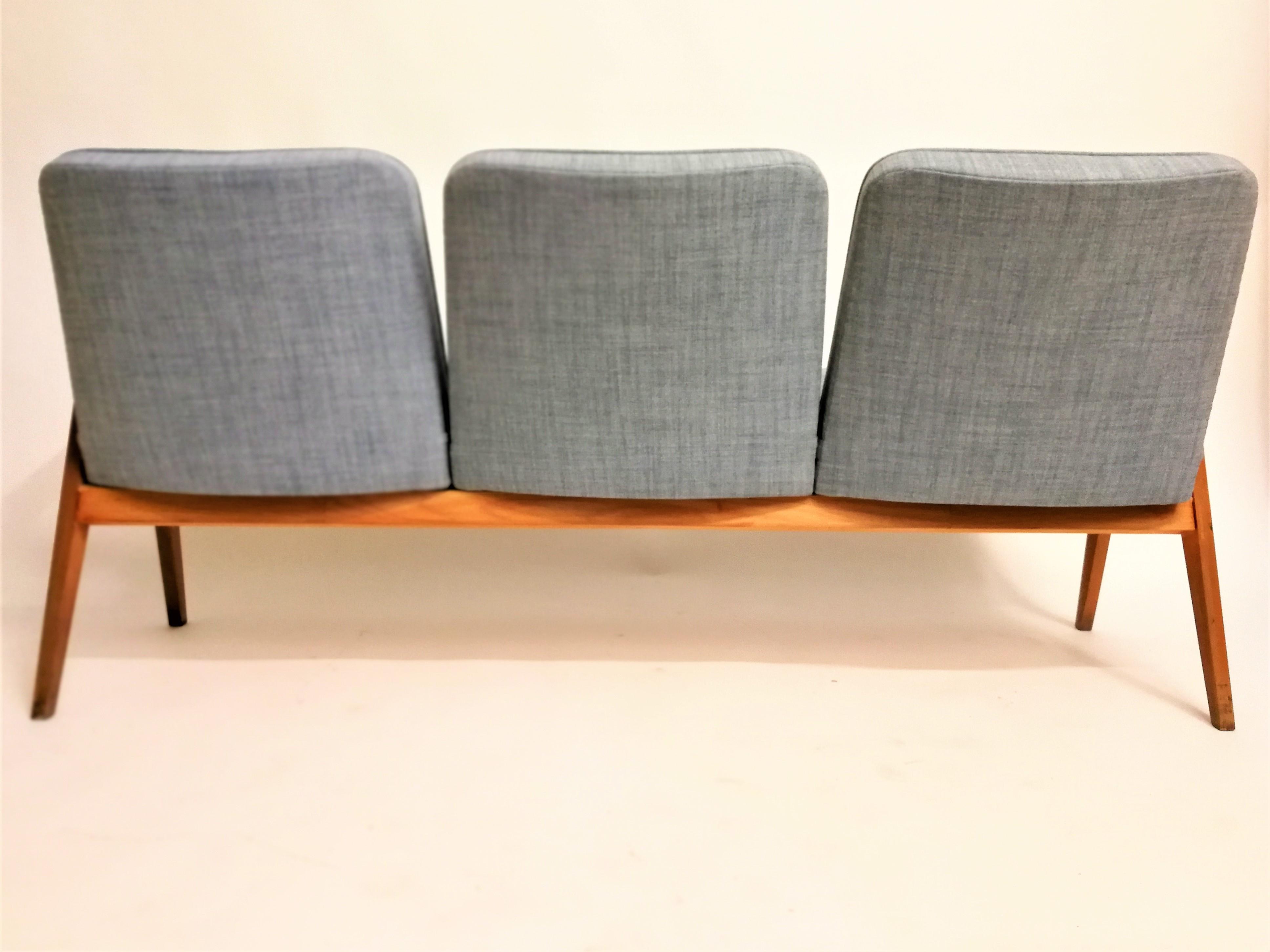 Fifties three seater Armchair