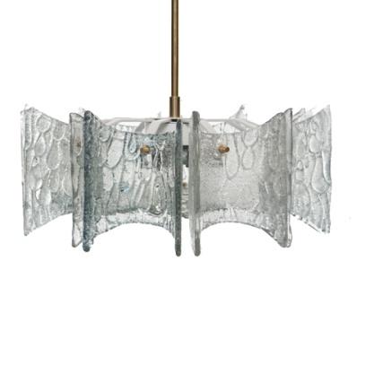 Kalmar lighting Cast bent glass